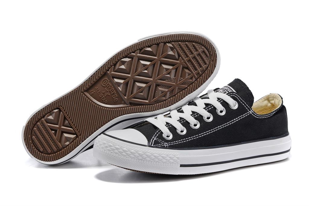 Converse Zapatillas de deporte Zapatillas de lona clásicas estrella para hombre y...