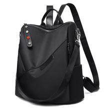 Oxford Women Backpacks Teenage Girl School Bags Fashion Lady Backpack Waterproof and Anti-theft Wome
