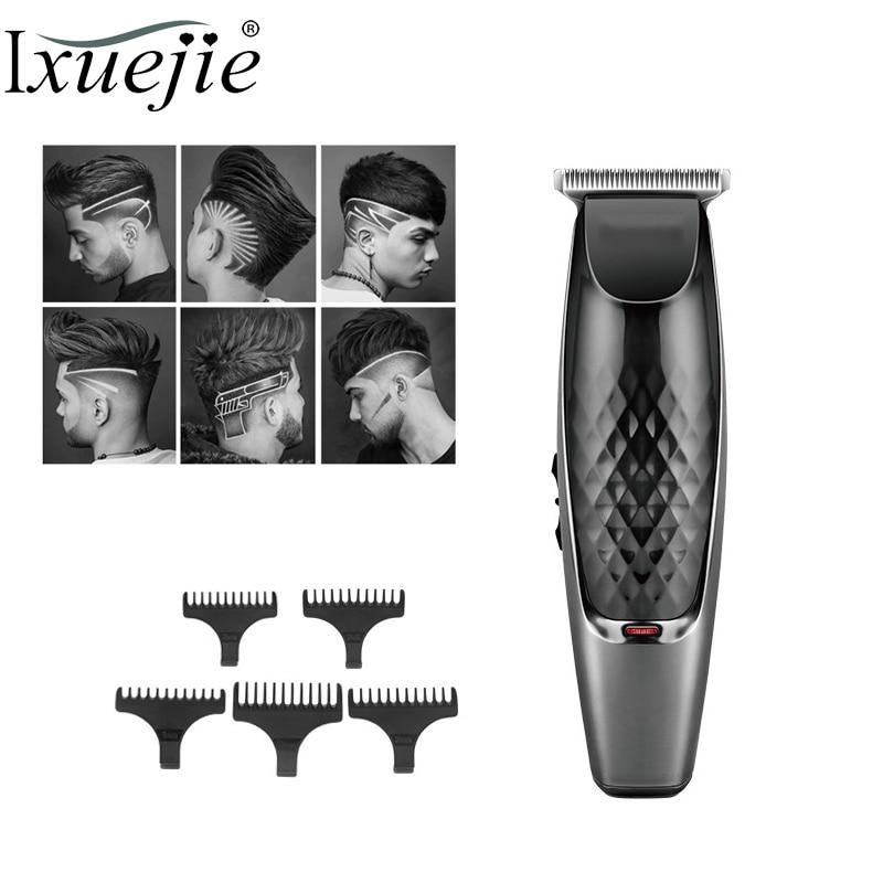 IXueJie Electric Hair Clipper for Men Hair Trimmer USB Cable Dual Interface Haircut Tools Oil Head Trimmer Hair Cutting Machine enlarge