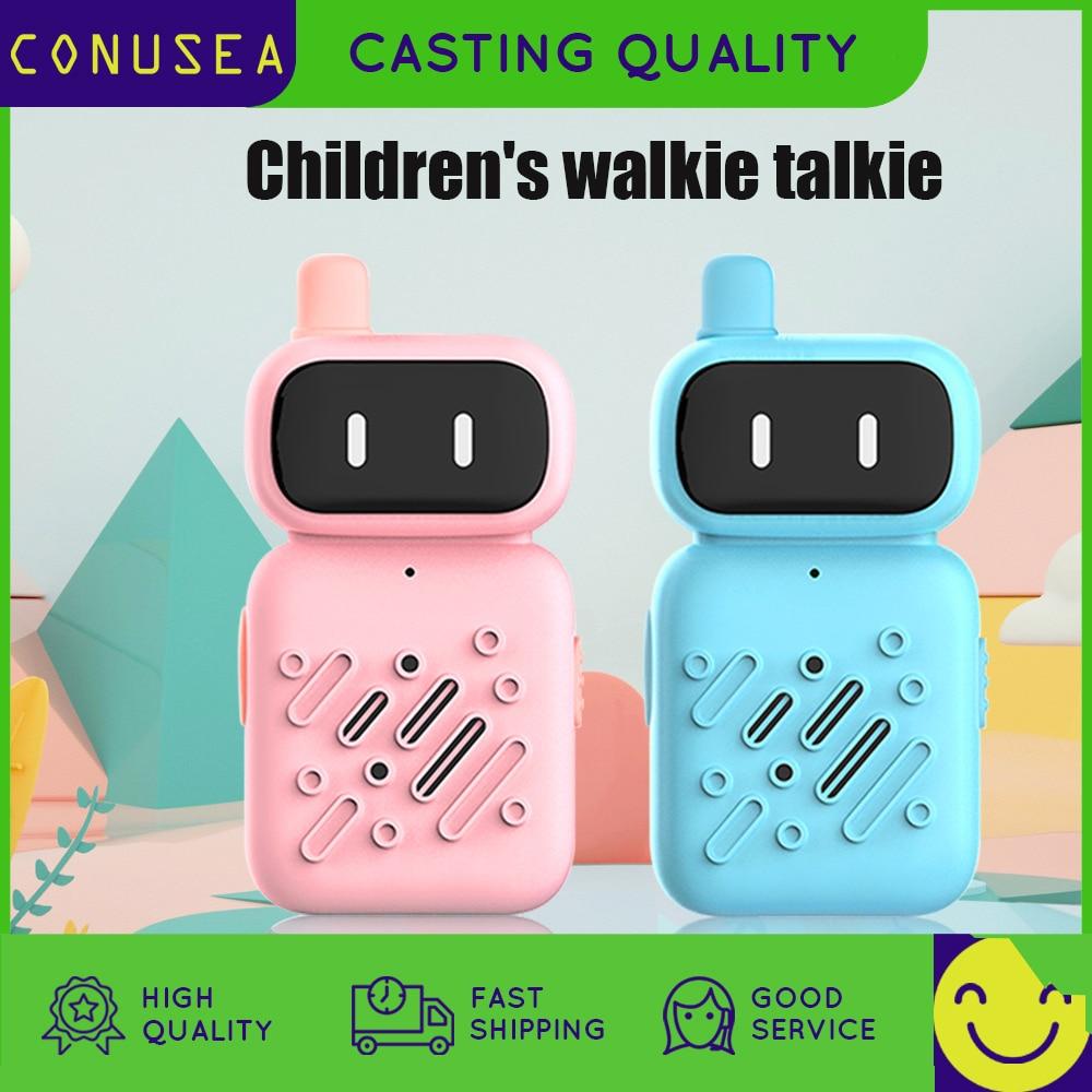 1 пара, Детская портативная рация-робот