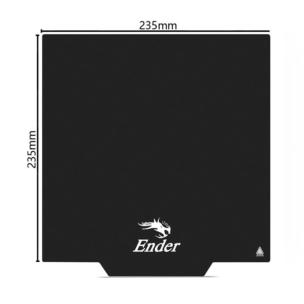 ل أندر 3 3S كرياليتي ثلاثية الأبعاد طابعة ملصق الطارد الساخن السرير منصة ورقة بناء سطح الشريط استبدال