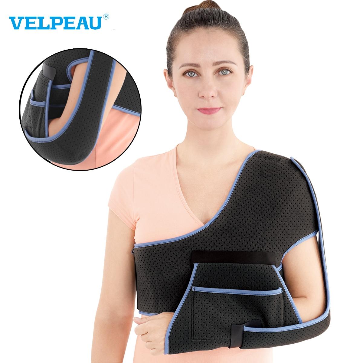 VELPEAU Shoulder Support Brace for Shoulder Arthritis Rheumatic Pain and Neurohemiplegia High-Streng