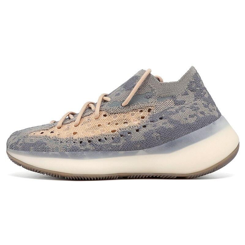 2021 الرجال جديد تنفس شبكة الملاك نجوم الجوف عاكس الرياضة احذية الجري خفيفة الوزن مقاومة للاهتراء زلة الارتفاع أحذية