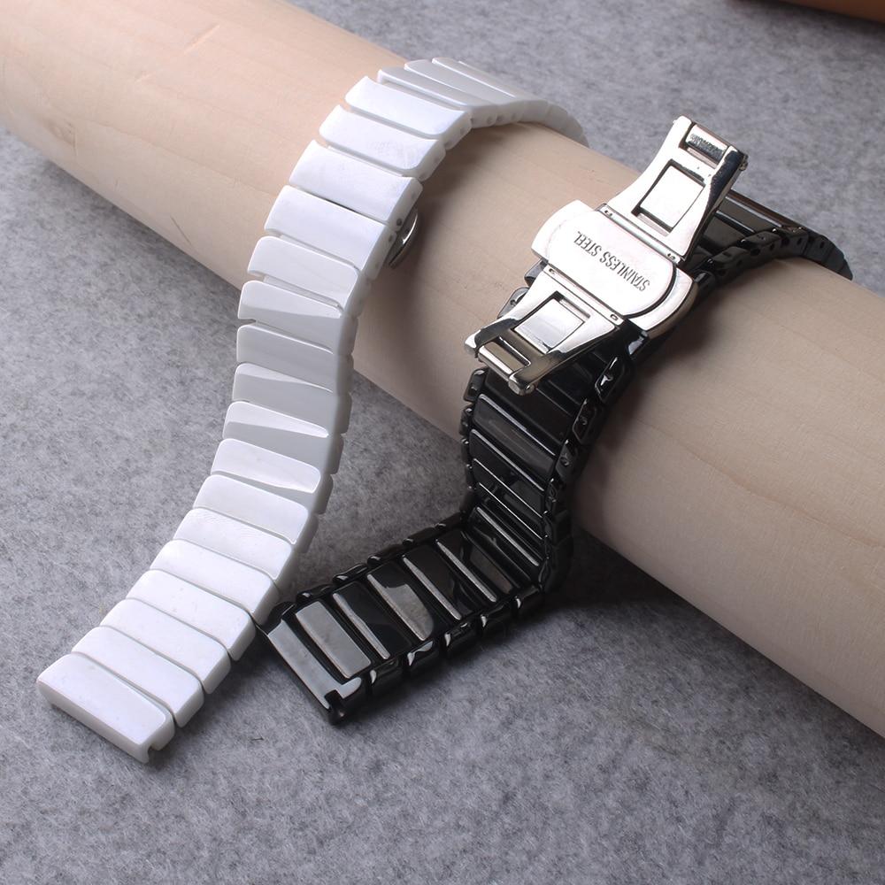 22mm liberação rápida pino barra pulseiras banda