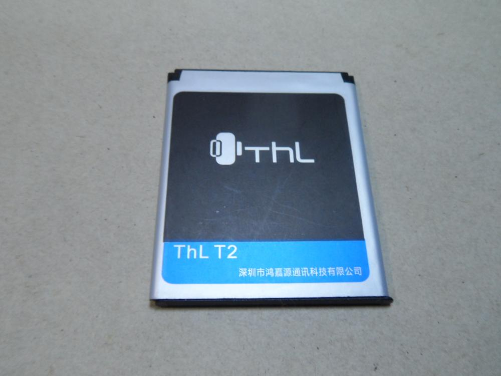 1pcs 100% High quality THL T2 1250mAh Battery for THL T2 +Tracking Code