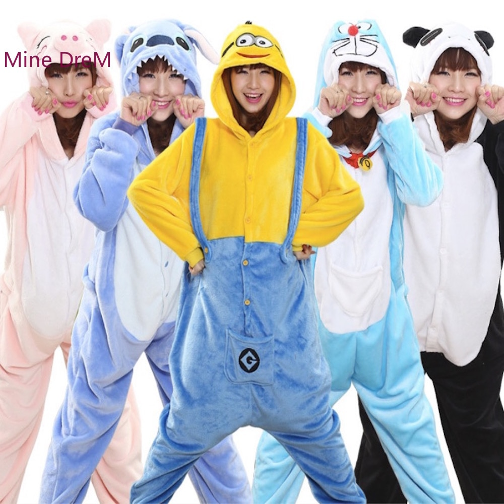 Pijama Kigurumi de animales, panda de Pikachu, búho stich, pijama de Kigurumi, pijama de cebra, tops para dormir, disfraz, bata de Onesies