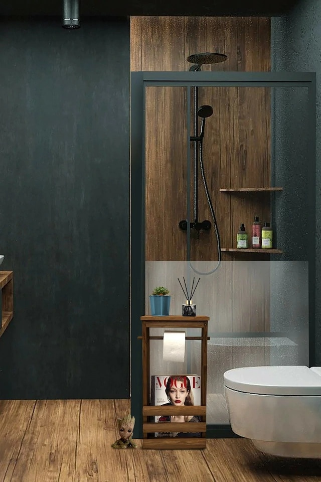 Grootland of Decorative Wooden Toilet Roll Holder / Magazine Holder / Bookcase