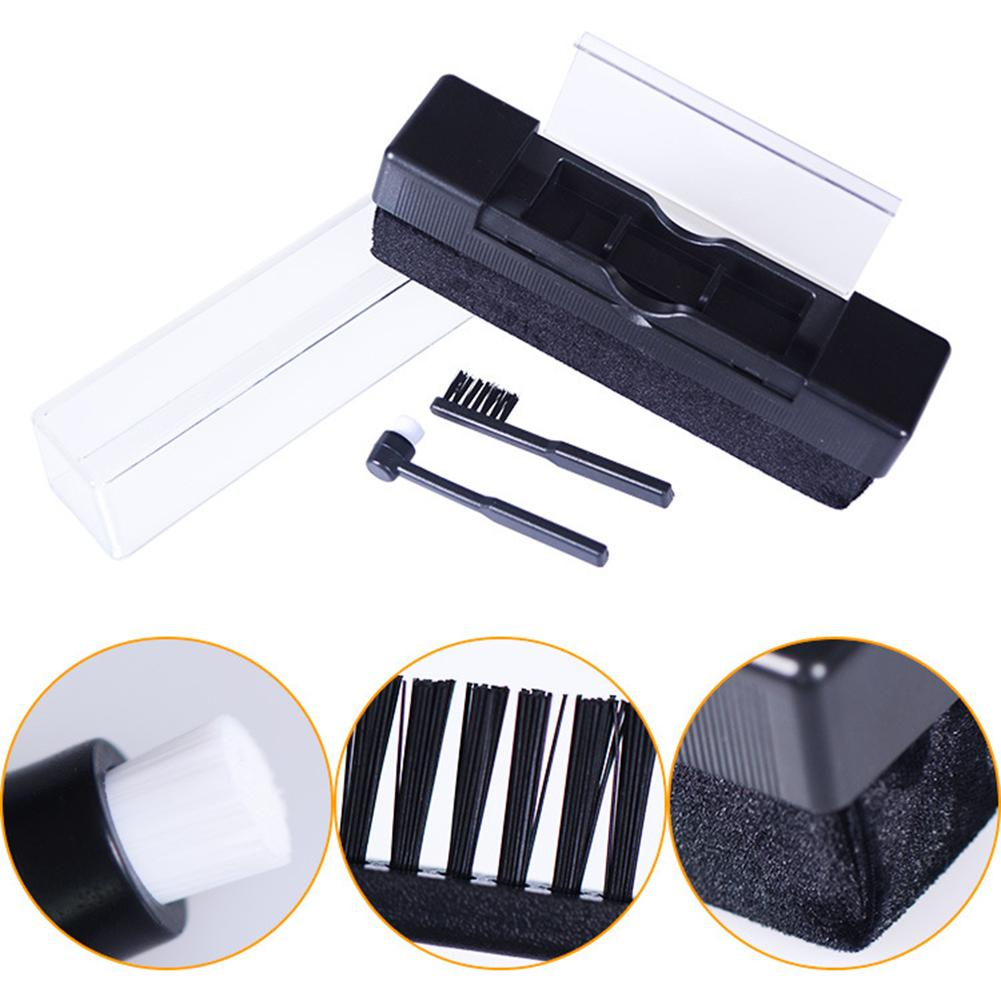 Vinyl Record Cleaning Kit Carbon Fiber Brush Audio Stylus Cleaner Dust Remover