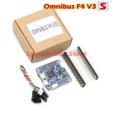 INAV Betaflight OMNIBUS F4 V3 S de filtro LC tablero controlador vuelo integrado barómetro OSD TF ranura para cuadricóptero