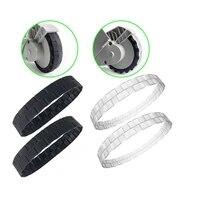 2pcs wheel tire skin accessories for xiaomi mi robot mijia 1s 2s t4 t4 t6 roborock s50 s55 s6masv vacuum cleaner home appliances
