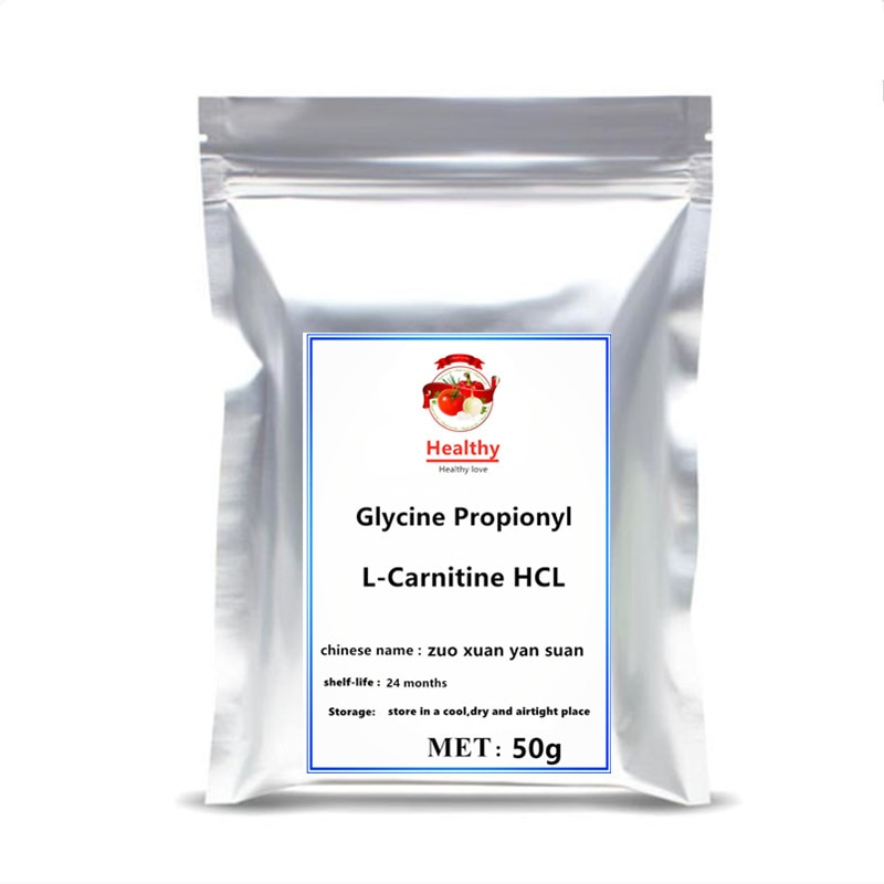 High Quality Dietary Supplements L-Carnitine Hydrochloride Powder Glycine Propionyl L-Carnitine HCL Body Weight Loss Control Fat