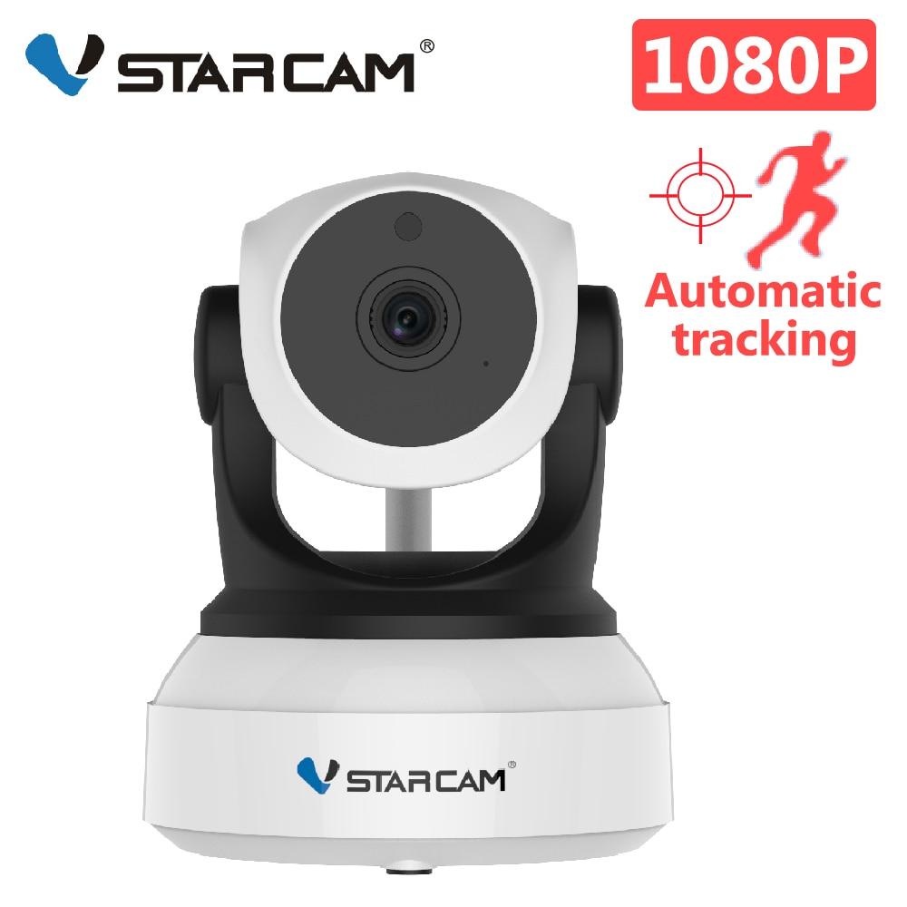كاميرا VStarcam KS24 1080P عالية الدقة للأمن كاميرا IP مزودة بخاصية Wifi كاميرا تتبع آلية بشري رؤية ليلية بالأشعة تحت الحمراء كاميرا مراقبة بشبكة فيديو ...