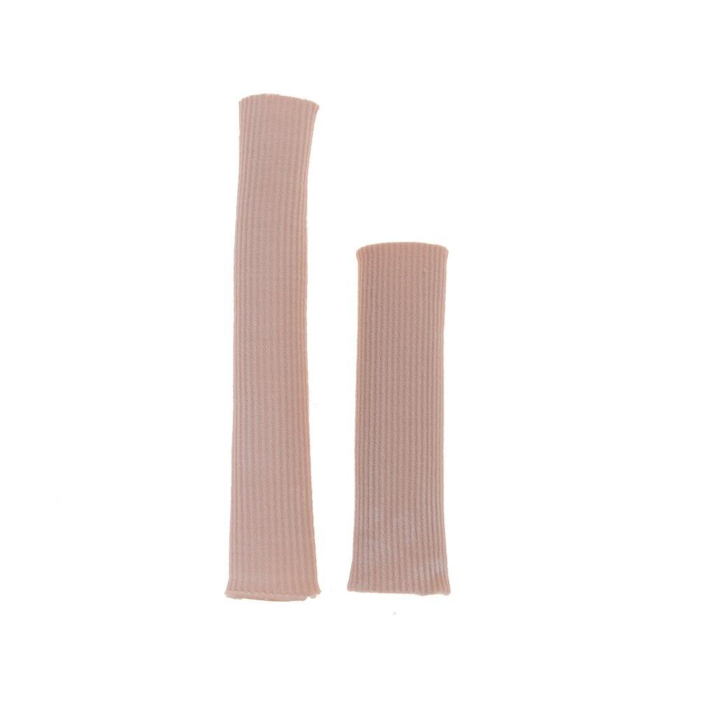 2 размера ребристые тканевые гелевые трубчатые втулки крышки для молотка ноги коготь блистер мозоли пальцы Seporate протектор 1 шт