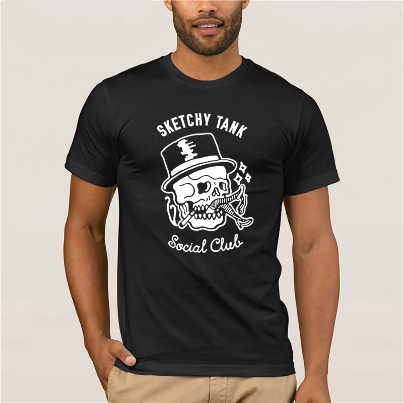 2020 Fashion Creative Graphic T shirt sketchy tank