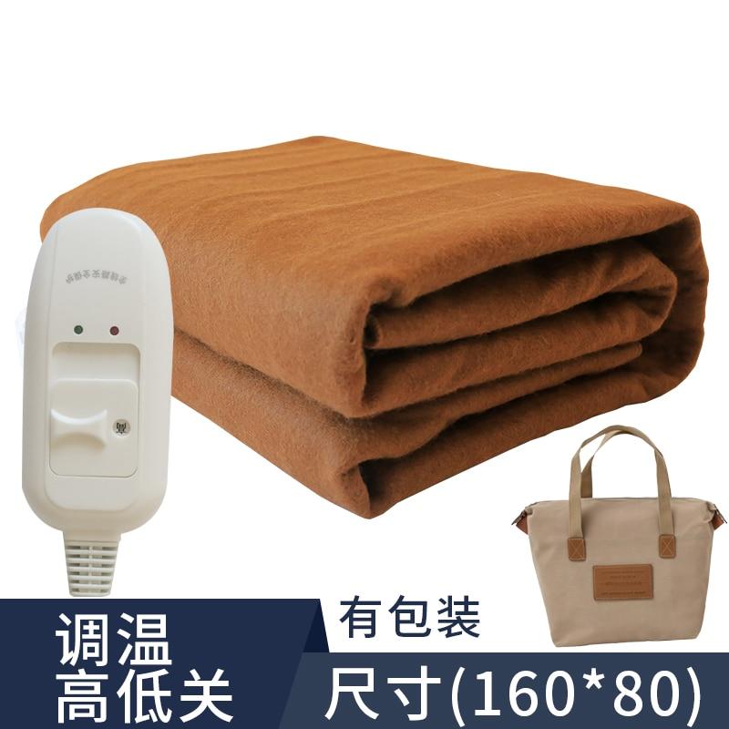 Student Double Electric Blanket Single Bed Warmer Heater Safety Heating Blanket Home Couverture Chauffante Sauna Blanket DJ60ET enlarge