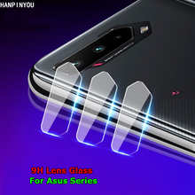 For Asus ROG Phone 5 ZS673KS Zenfone 8 Flip Clear Rear Back Camera Lens 9H Tempered Glass Protector Protective Film Guard