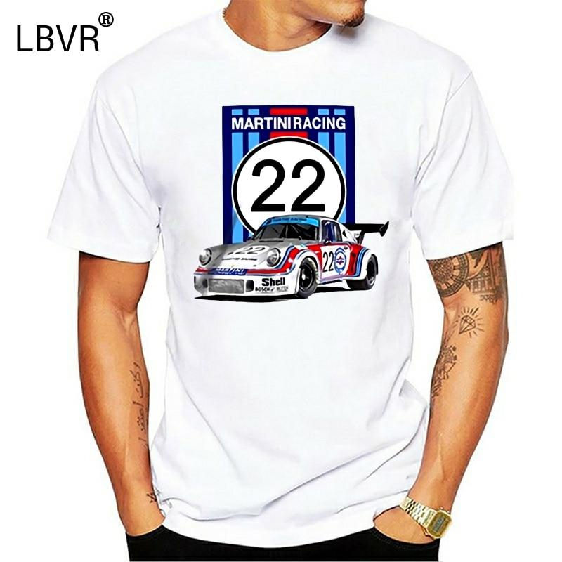 RSR Turbo group 5 1974 Martini, camiseta de carreras, 24 Le mans Ruf