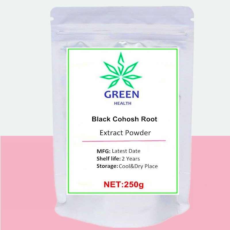 Black Cohosh Root Extract Powder High Quality Support Menopausal Symptoms