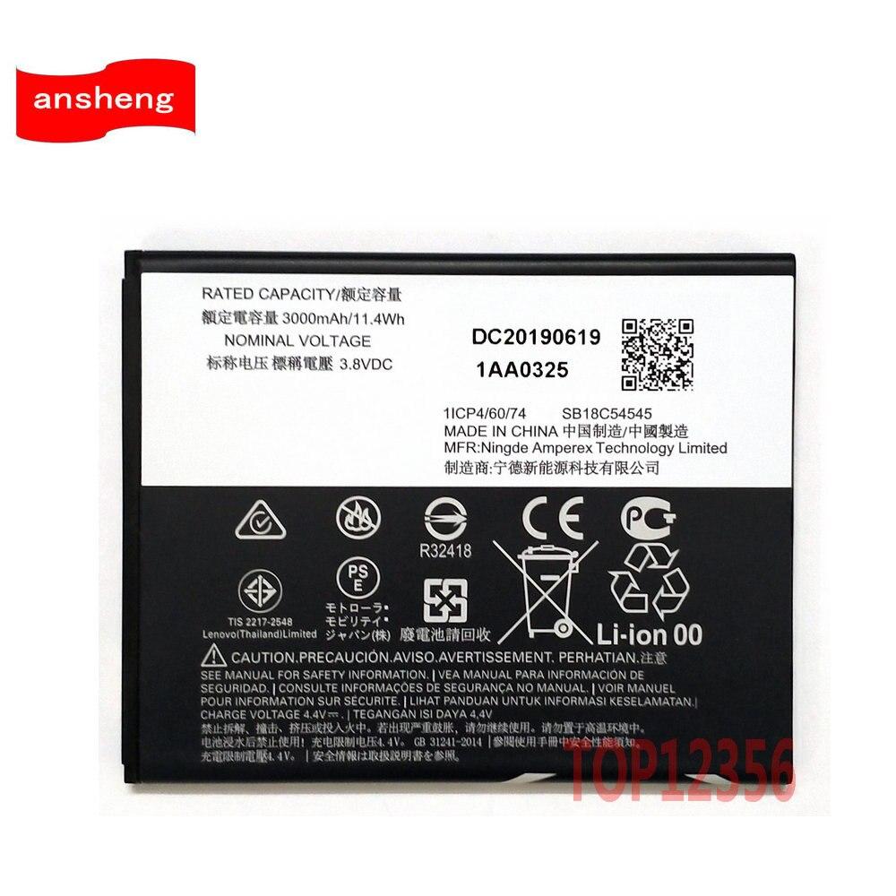 Novo original 3000 mah kc40 bateria para motorola moto e6 plus XT2025-1 XT2025-2 celular