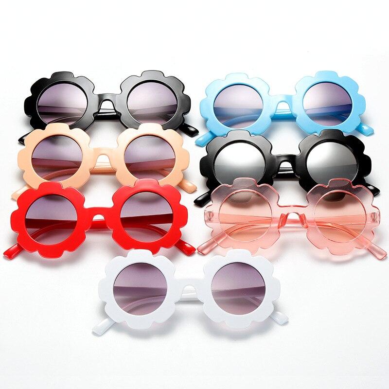 Sunglasses for Kids Round Flower Cute Glasses Children Girl Boy Gifts Kids Sunglasses Cute Round Sun
