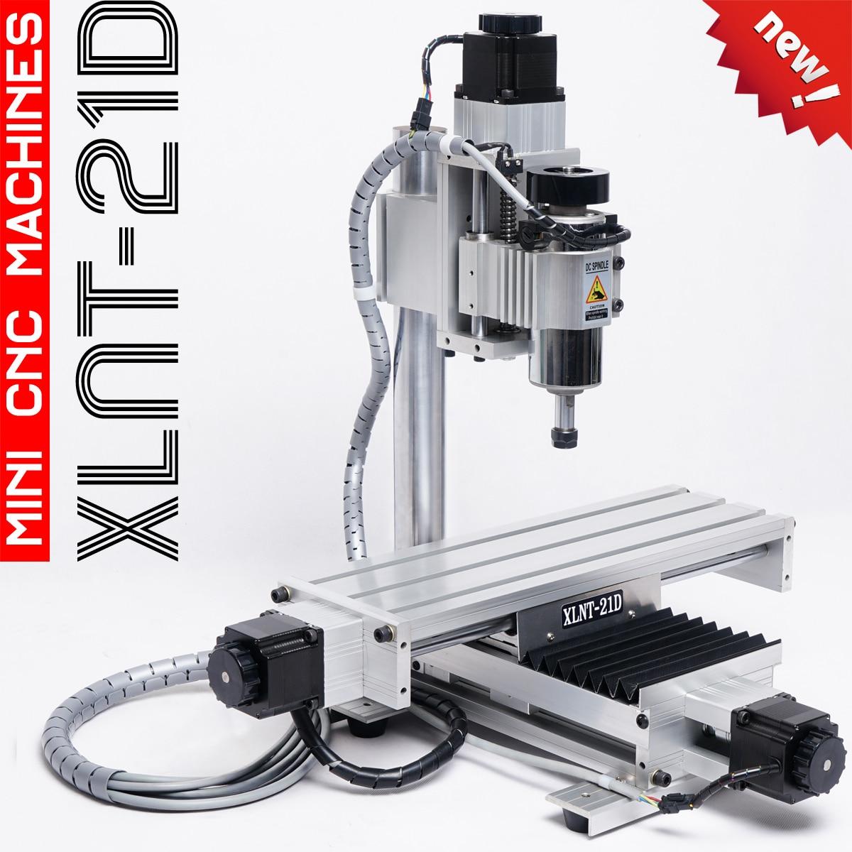 CNC Milling Machine XLNTCNC-21D  Mini Carving