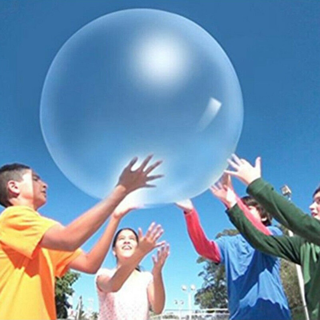 Children Outdoor Soft Air Ball Water Filled Bubble Ball Blow Up Balloon Toy Fun Birthday Party Game