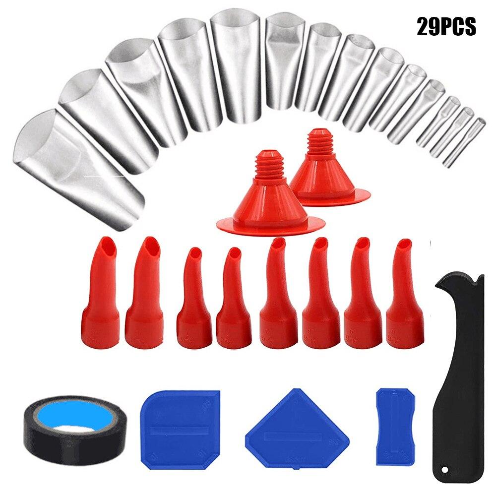 Герметичная насадка, 29 предметов, герметик, многоразовый силиконовый герметик из нержавеющей стали для кухни, ванной комнаты, герметик для ...