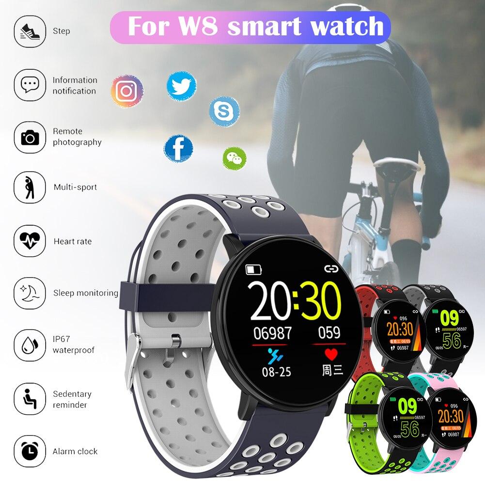 Monitor de Freqüência Polegada para Homem e Mulher Relógio Inteligente Cardíaca Fitness Rastreador Cronômetro Pedômetro Calorias Esporte 1.3