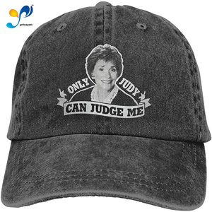 Only Judy Can Judge Me 2 Cowboy Cap Baseball Hat Casquette Headgear