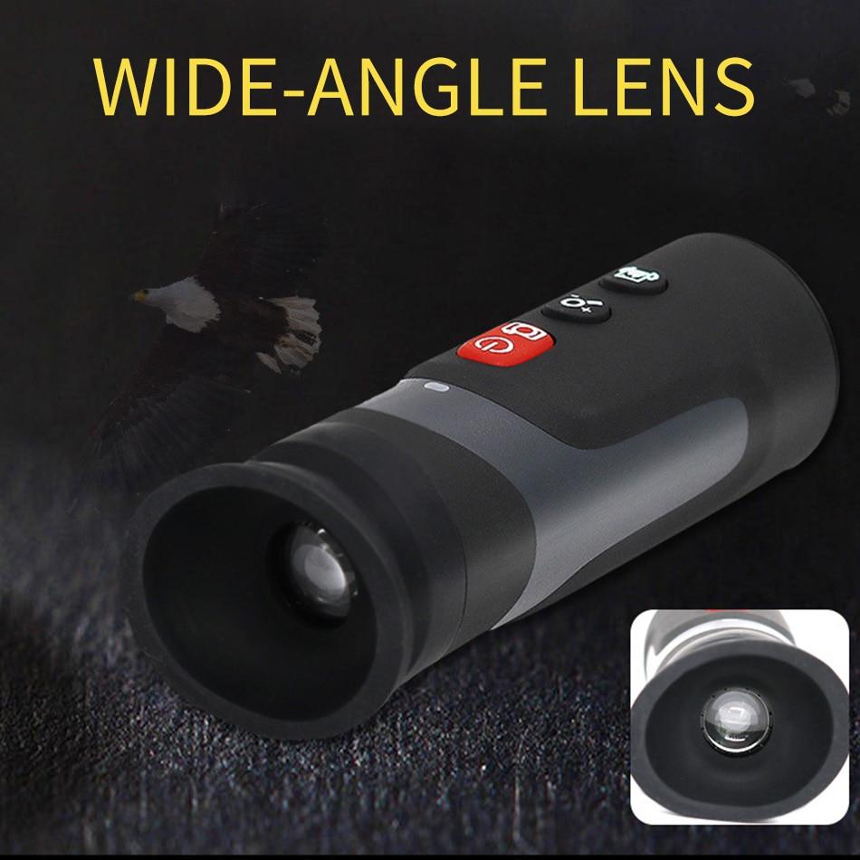HT220D الأشعة تحت الحمراء التصوير الحراري للرؤية الليلية نوع البحث الصيد الجبلية والإنقاذ تصوير