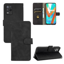 For OPPO Realme V13 5G Case Luxury Flip Skin Texture PU Leather Wallet Stand Case For Oppo Realme V1