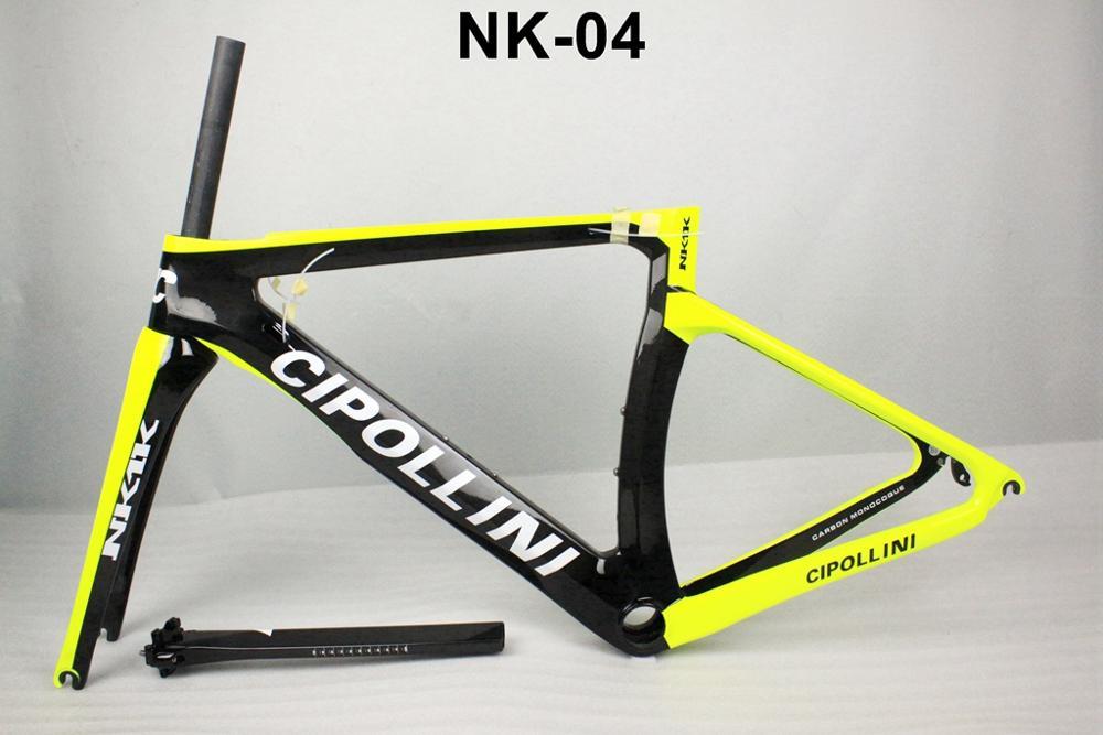 Disco de cuadros de bicicleta T1000 3K World Champion Cipollini NK1K, disco de bicicleta de carretera de carbono con marco RB1K con XS/S/M/L/XL