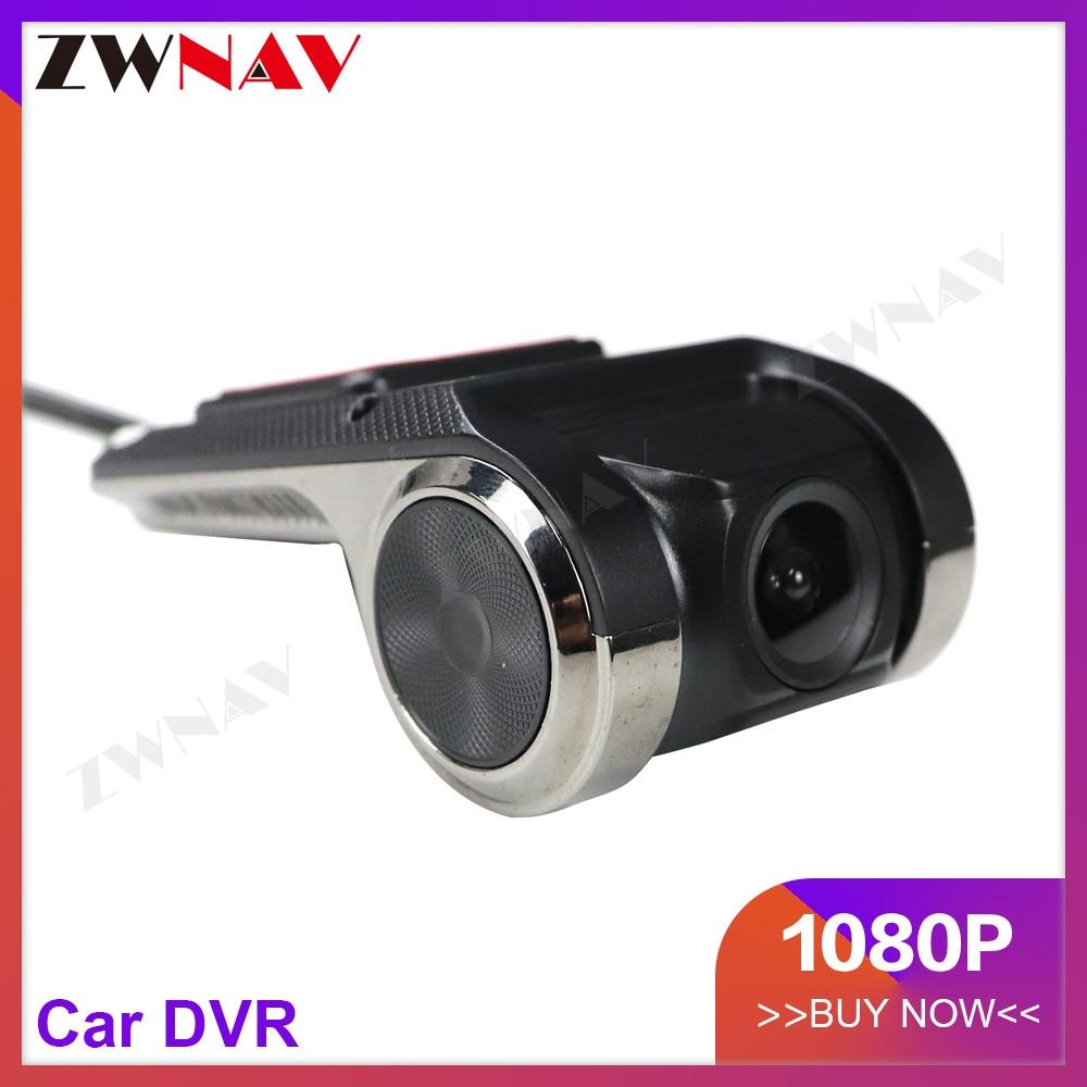 Cámara Dash Car DVR cámara USB DVR 1080P cámara para Android 4,4/5,1/6,0/7,1/8,0 versión nocturna Mini cámara grabadora de conducción de coche