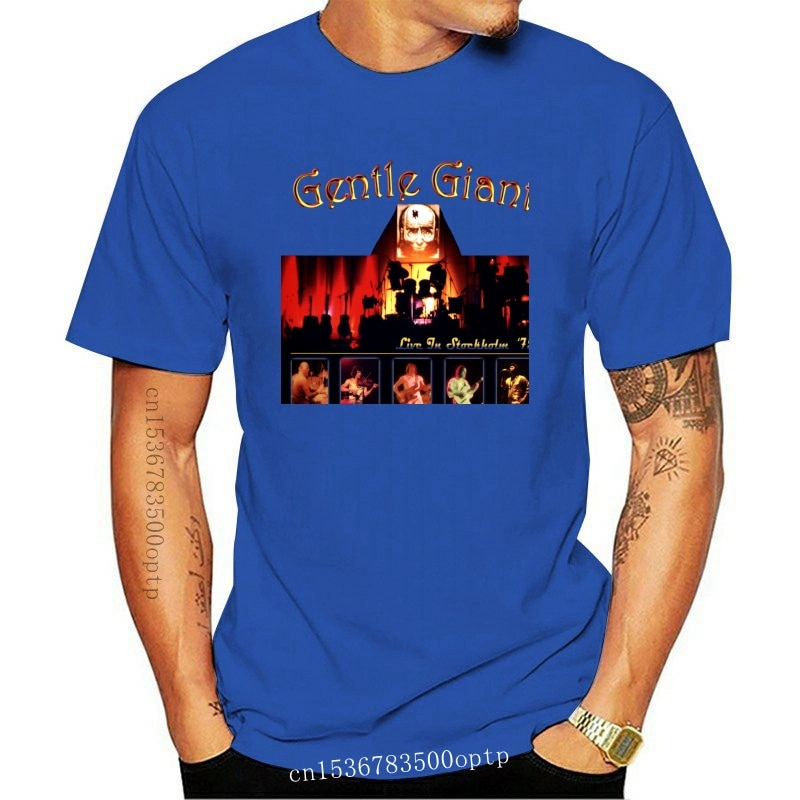 New Gentle Giant Tees Progressive Rock Band S M L 3Xl T Shirt Derek Shulman & Phil