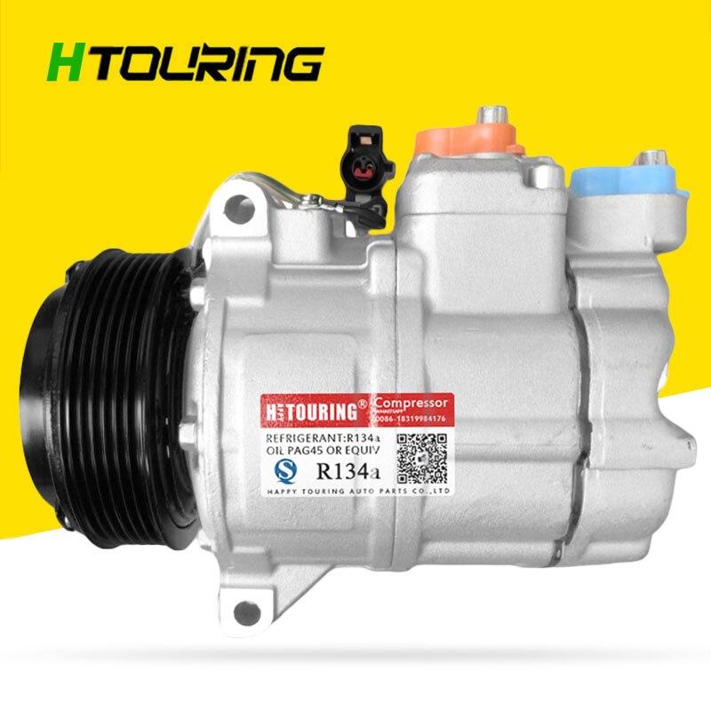 Compresor de aire acondicionado para coche PXV16 para LAND ROVER RANGE ROVER Mk III LM 4,4 4,2 JPB500211 JPB500210 LR012799 JPB-500211