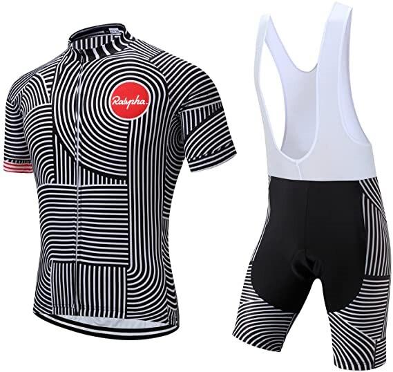 Summer Cycling Jersey Kit Bicycle Short Sleeve Ralvpha Men Bike Bib Shorts Clothes Maillot Cycling Sets Clothing Ropa Ciclismo