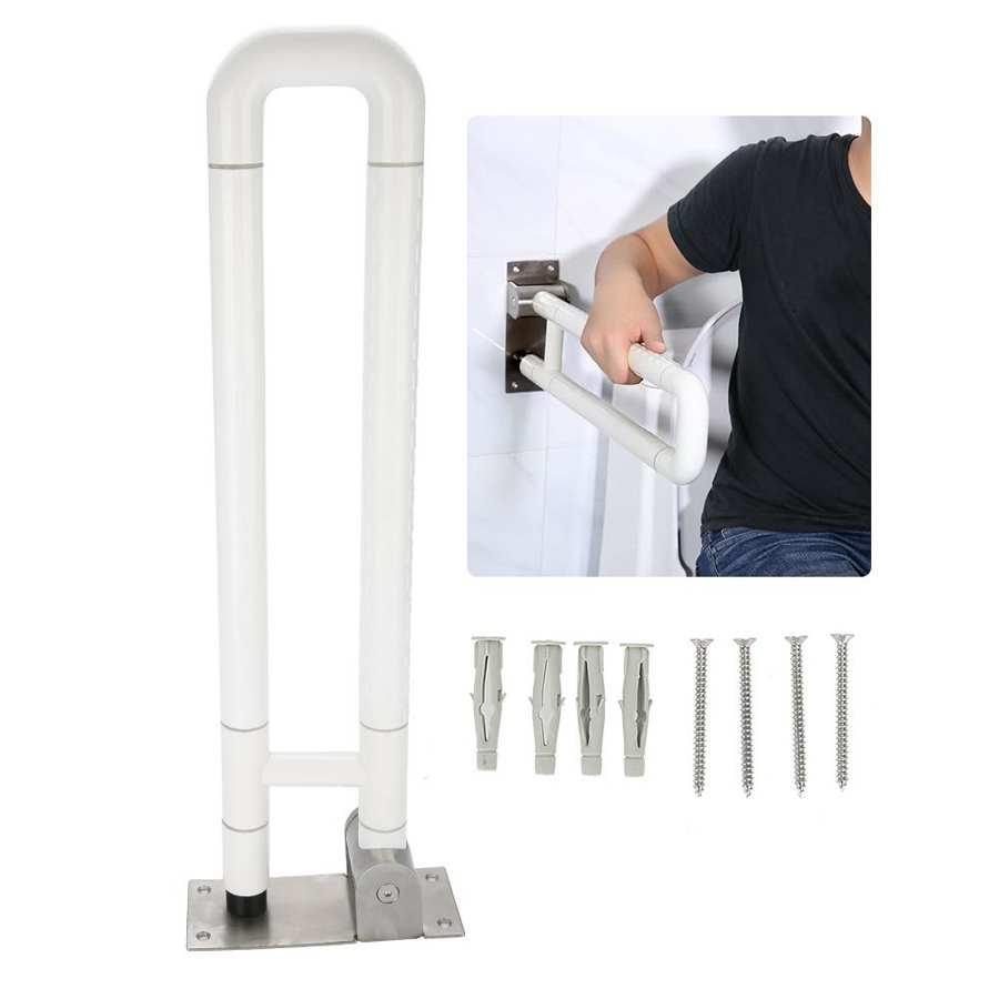 Baño riel de seguridad apoyo ayuda manejar Anti Slip de baño tomar brazo Bar ayuda baño apoyo ayuda a manejar