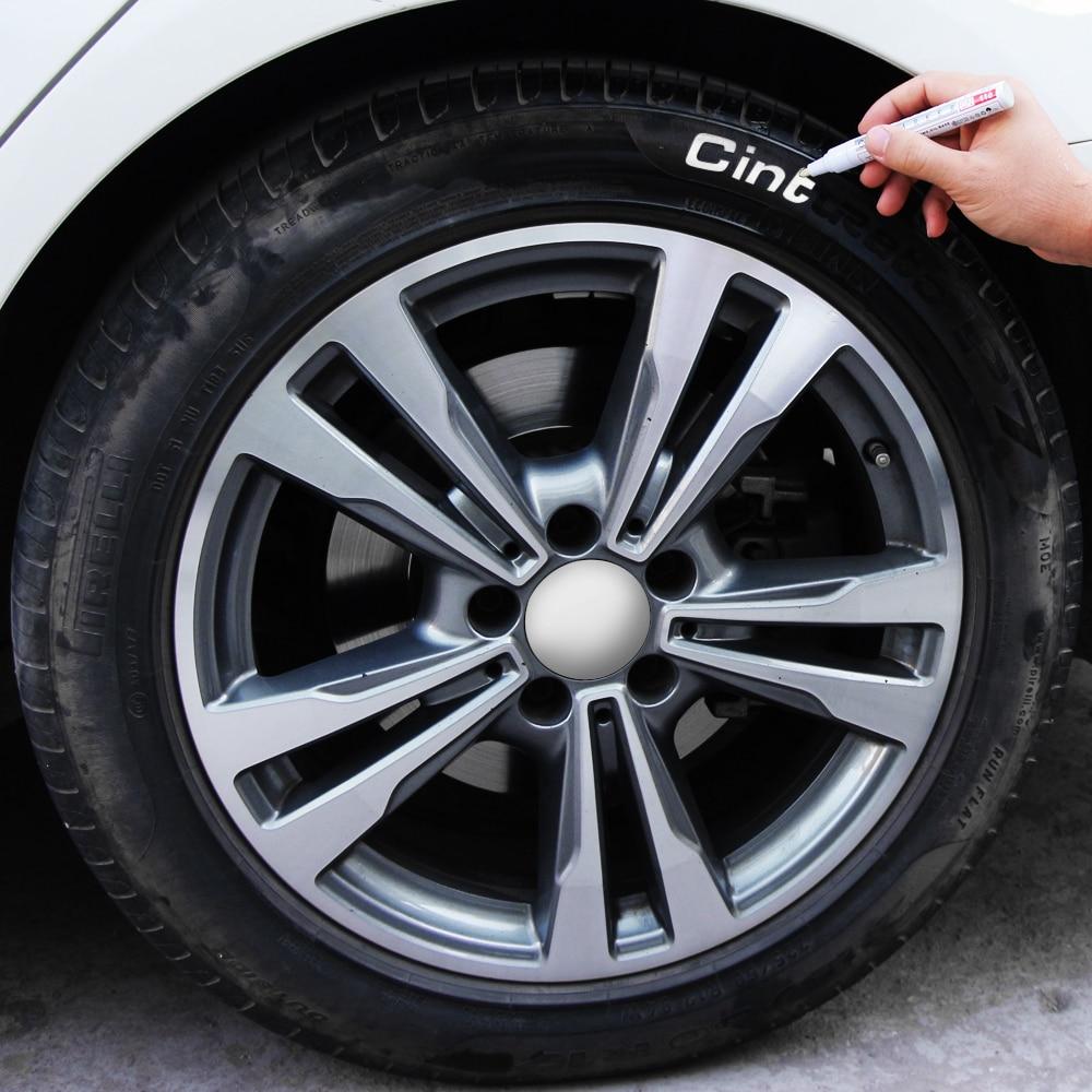 Rotulador rodadura de Metal para neumático de coche, marcador de grafiti para Mercedes Benz W211 W203 W204 W210 W124 AMG W202 CLA W212 W220 W205 W201 C117