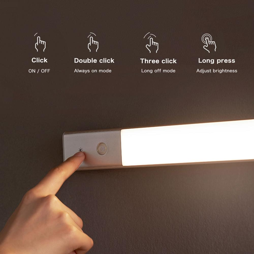 YouPin Lightweight Nightlight Smart LED Lamp Wireless Magnetic With Motion Induction Light Sensor Rechargeable Battery For Home enlarge