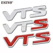 New Car Styling 3D Metal Chrome Zinc Alloy Emblem Badge Sticker Decal Fender Emblem Auto Accessory f