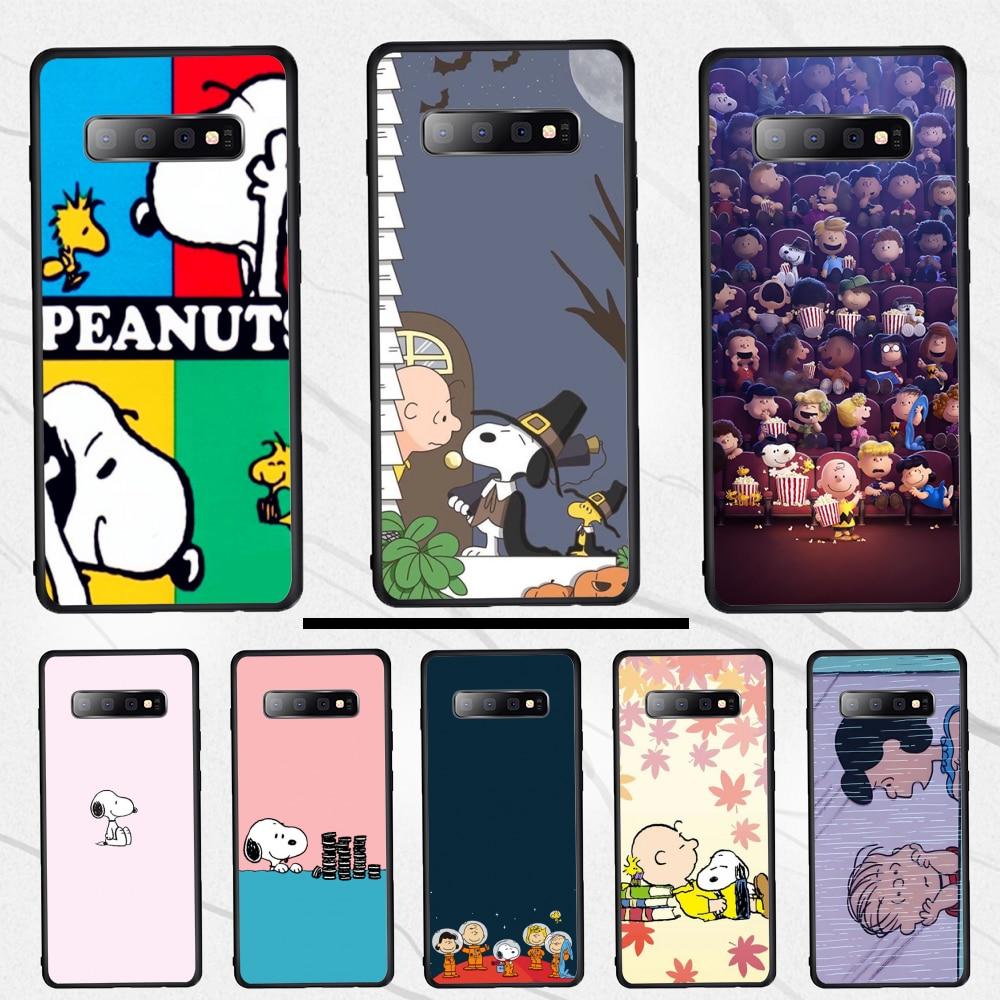 Peanut Charly, carcasa para teléfono móvil pintada DIY Beagle para Samsung S10 S10e S10Plus S9 S9Plus S8 S7 S6 edge plus