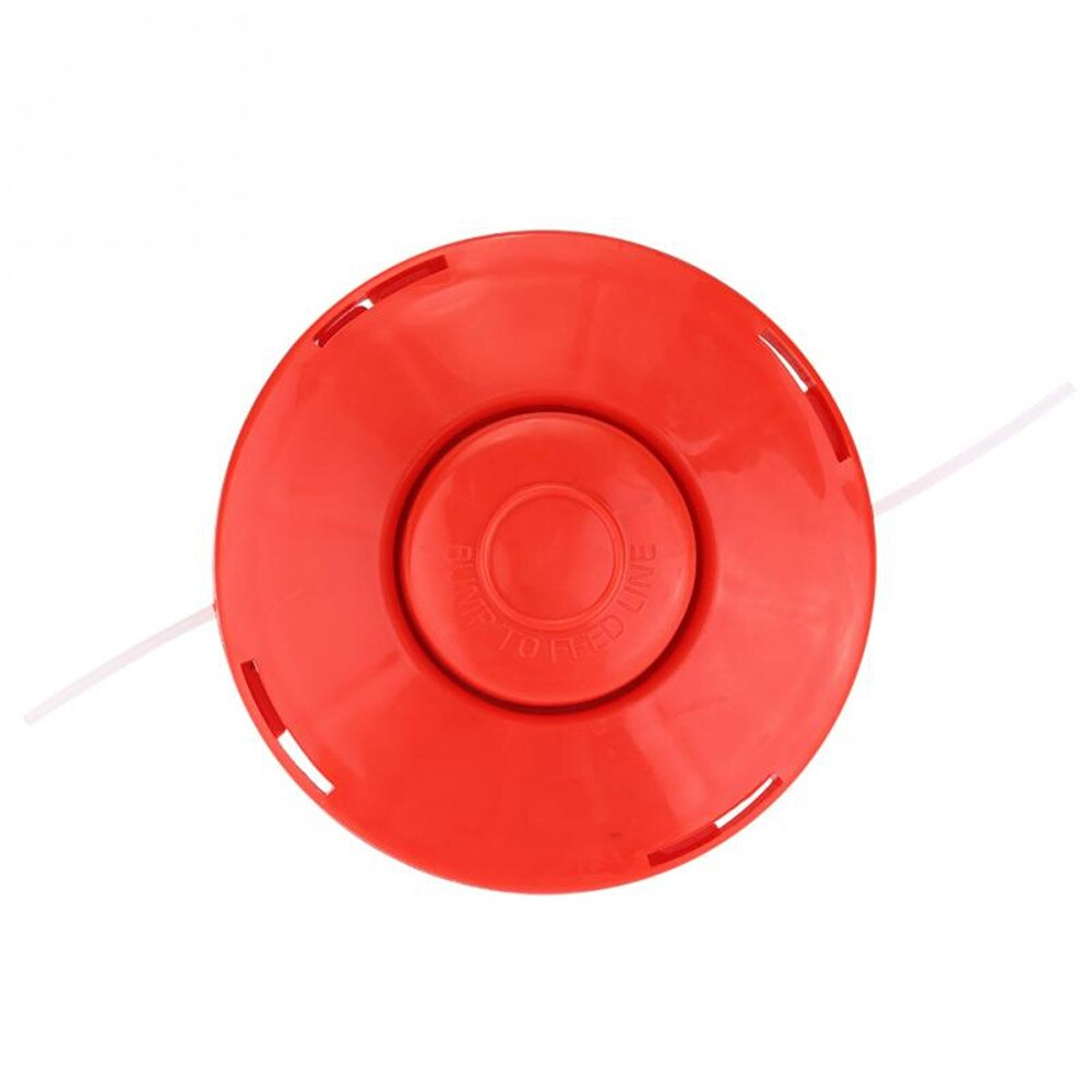2021 New Universal Strimmer Mower Replace Red Trimmer Head Bump Spool Line String Brush Cutter Lawn Mower Garden Tools