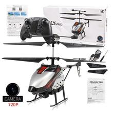 Mini RC Drone Aircraft Radio Remote Control Airplane With Camera 720P Kids Remote Control Toys Child
