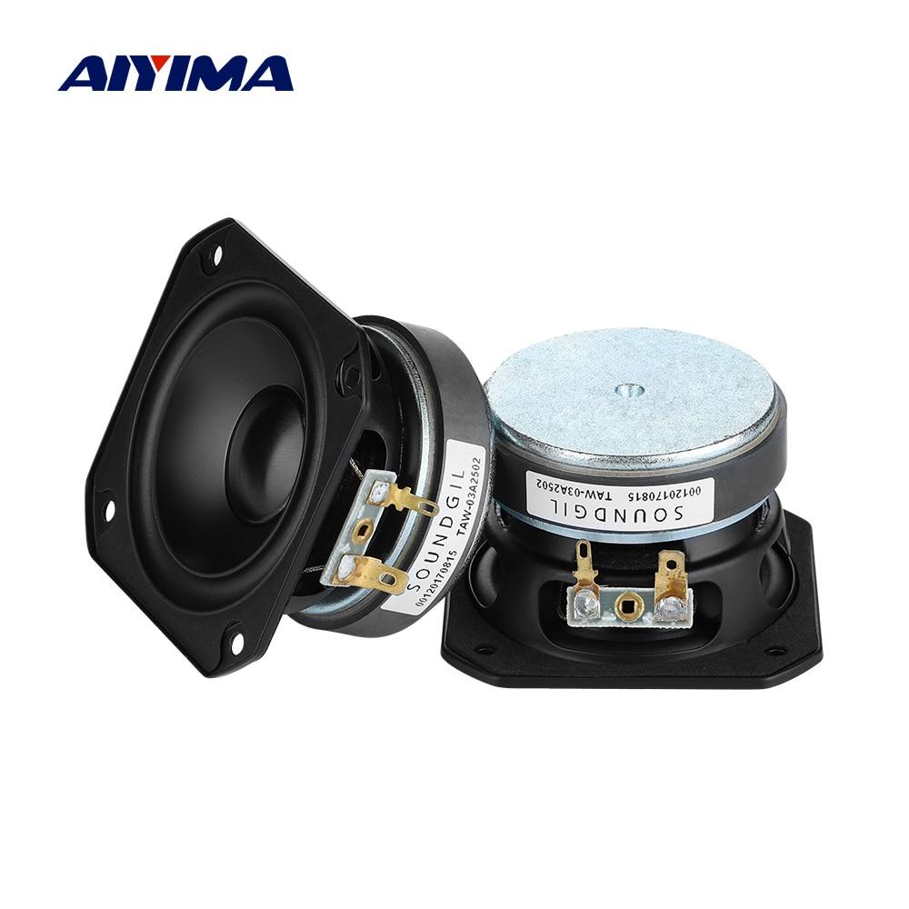 AIYIMA 3 pulgadas 78MM de gama media Bass Speaker 4 Ohm 50W-Golpe...