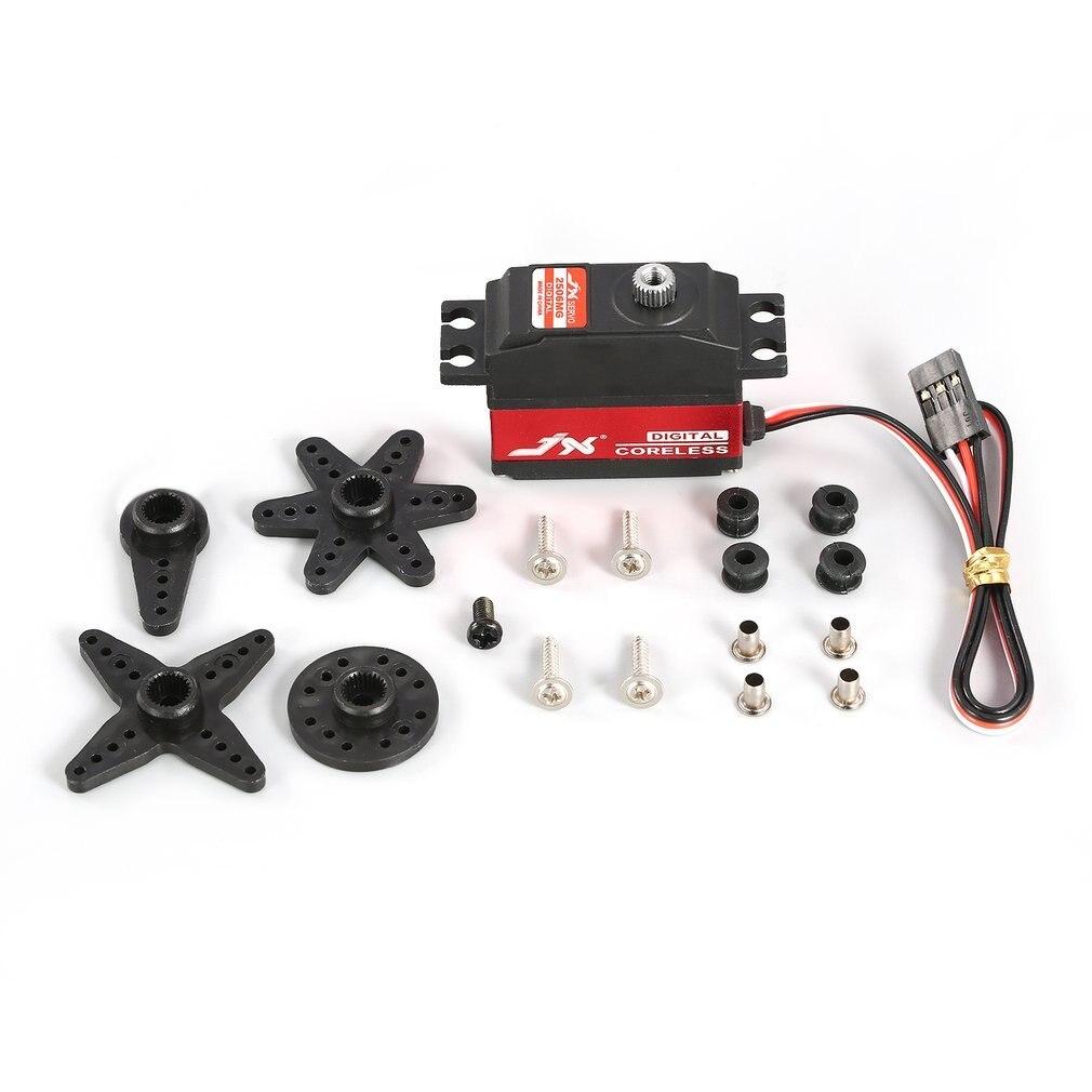 JX PDI-2506MG 25g Servo Motor Sin Núcleo Digital de engranaje de Metal para RC 450 500 helicóptero de ala fija, modelo de aeroplano RC juguete, piezas de Hobby