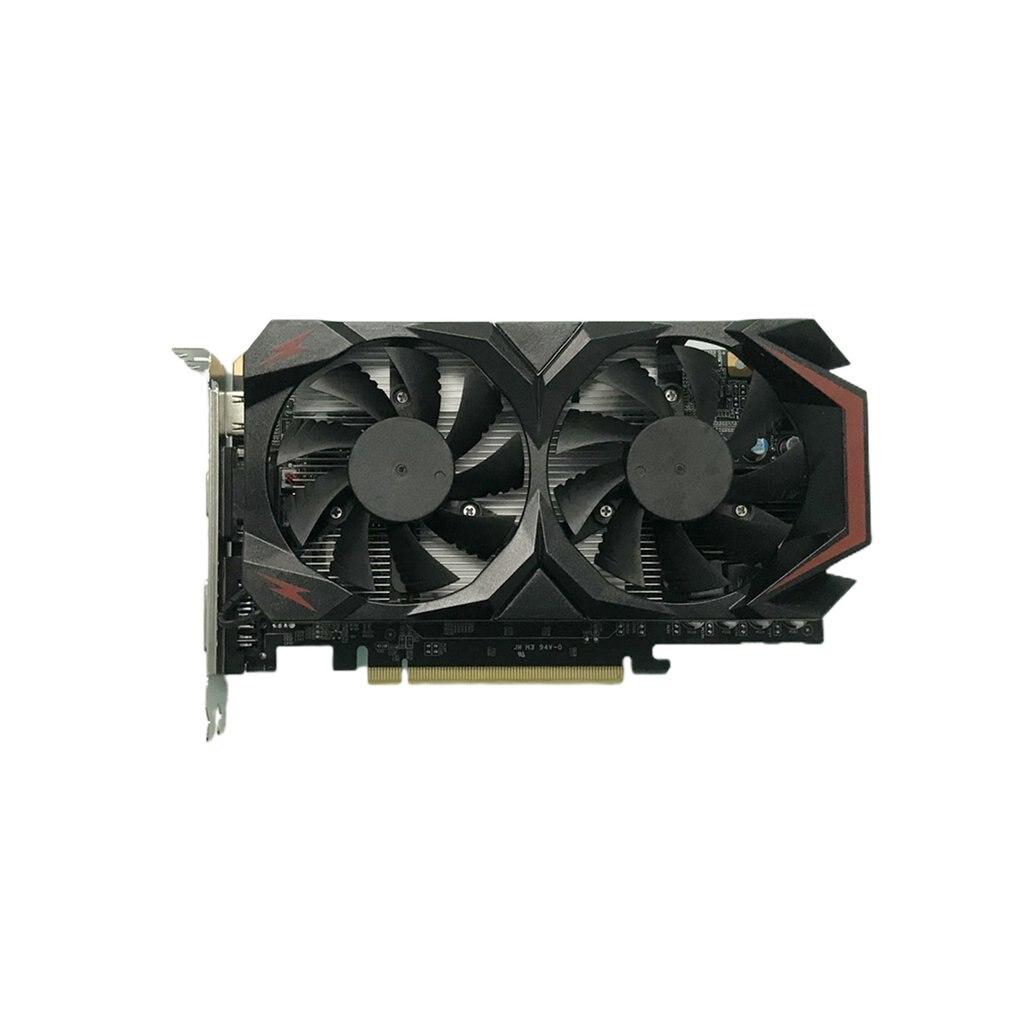 بطاقة جرافيكس لألعاب الكمبيوتر عالية الأداء GTX550TI DDR5 مع مروحة تبريد بطاقة ذاكرة فيديو منخفضة الضوضاء