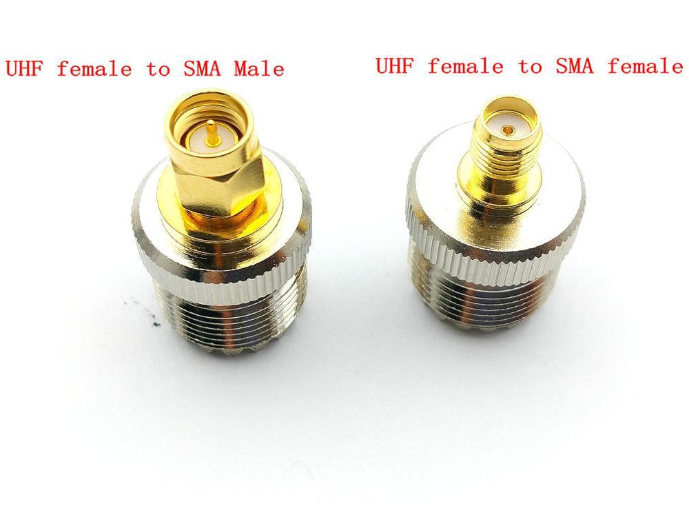 موصل UHF SO-500 أنثى إلى أنثى SMA ، قابس ذكر ، 239 قطعة