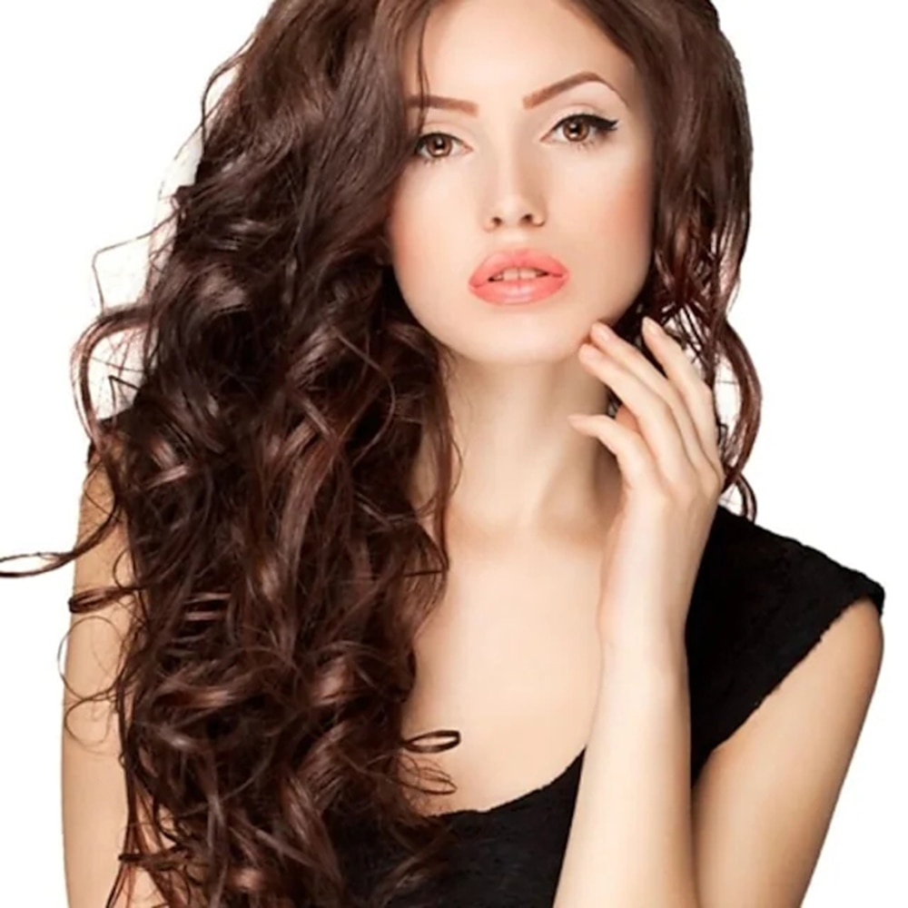 Remy Human Hair Glueless Lace Front Wig style Brazilian Hair Body Wave Wig 150% Density wig with Baby Hair Natural Hairline wigs