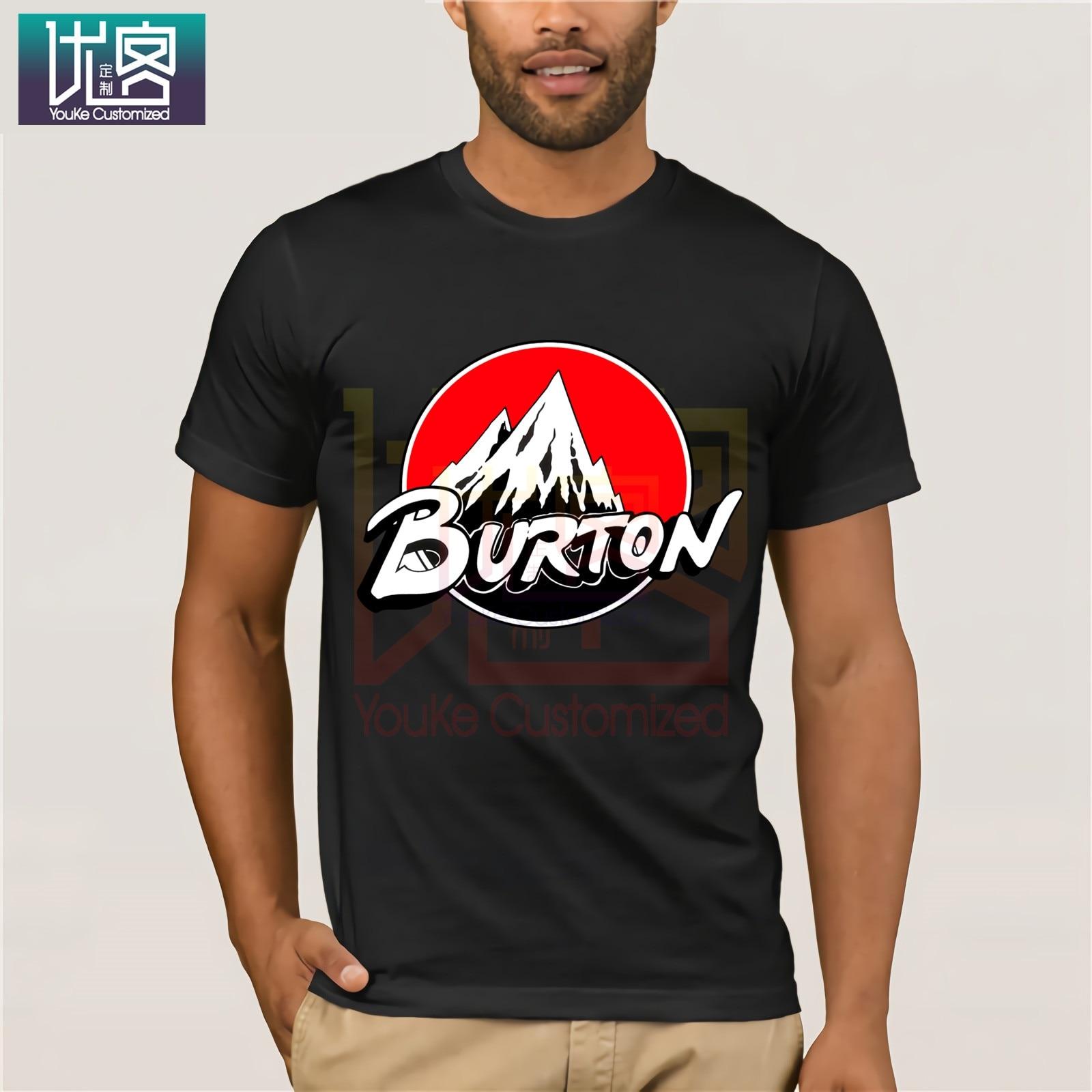 Camiseta roja con Logo de la flecha para snowboard, camiseta de dibujos animados, camisetas de Homme para hombres, Cool 2019 camiseta de humor, Camiseta de algodón para 100%