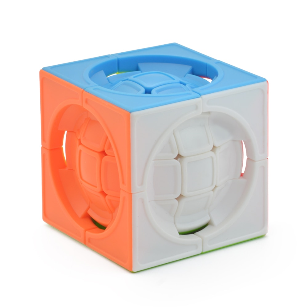 AliExpress - Magic Ball Profissional Strange-shape Magic Cube Competition Speed Puzzle Deformed Cubes Toys For Children Kids